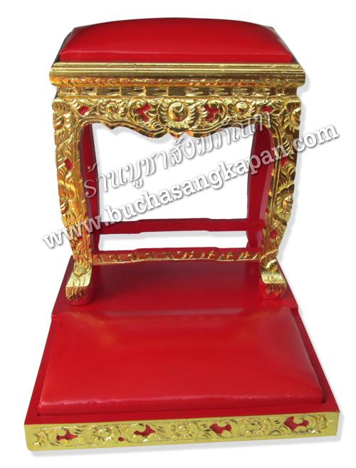 โต๊ะกราบ ปิดทองร่องชาด