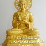 พระพุทธรูป ทองเหลือง พ่นทอง ปางปฐมเทศนา 30 นิ้ว