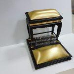 โต๊ะกราบ หน้า8 เบาะ สีทอง