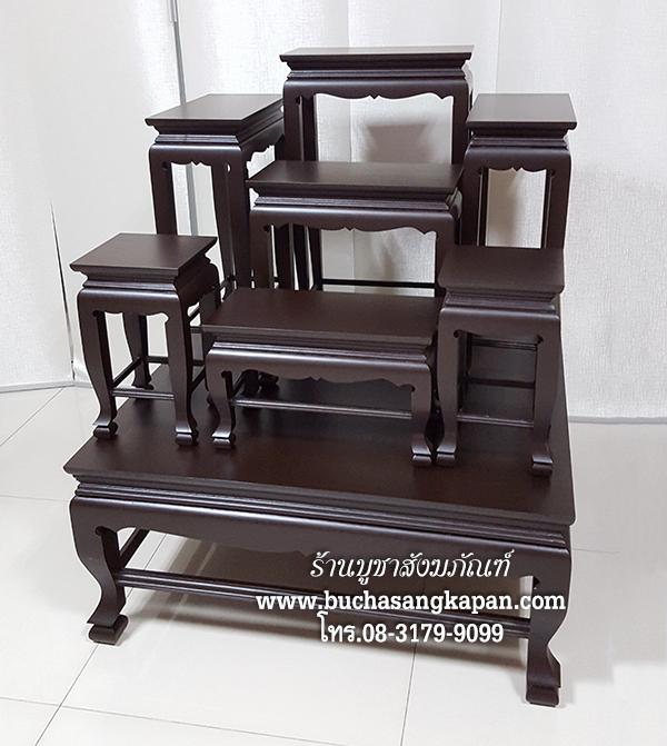 โต๊ะหมู่บูชา,ราคา โต๊ะหมู่บูชา,