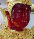 พระแก้วมรกตปางฤดูร้อนสีแดง ปิดทองเค หน้าตัก 40 นิ้ว03