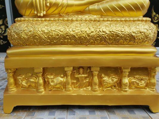 พระพุทธเมตรตา ทองเหลือง พ่นทอง หน้าตัก 30 นิ้ว03
