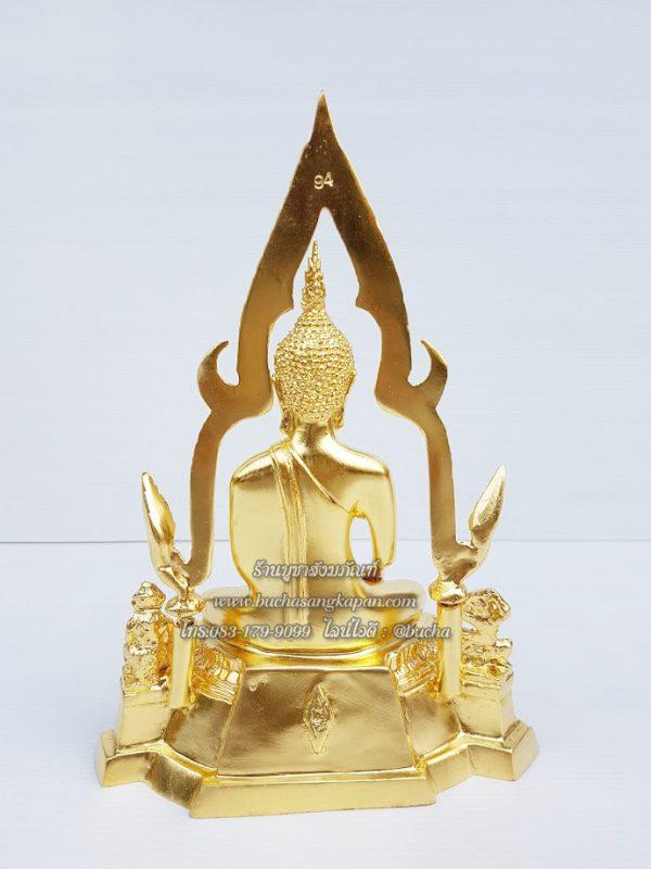 พระพุทธ ชินราช ทองเหลือง ปิดทองคำแท้ หน้าตัก 5 นิ้ว
