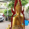 พระพุทธชินราช ทองเหลือง พ่นทอง หน้าตัก 50 นิ้วฐานสูง 05