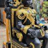 พระรูปเหมือน เสด็จพ่อ ร.๕ (นั่งบัลลังค์) ทองเหลือง ขนาด 30 นิ้ว (เท่าองค์จริง) 02