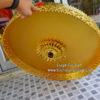 ฉัตรอัลลอยด์ ในร่ม ปิดทองเค ขนาด 20 นิ้ว 5 ชั้น 01