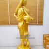 พระสีวลี ทองเหลือง พ่นทอง ขนาด 20 นิ้ว 02